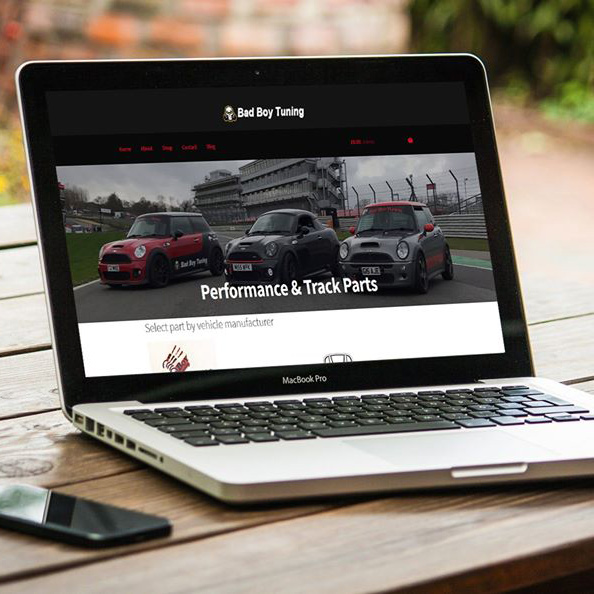 Bad Boy Tuning | Web Design by Plexaweb
