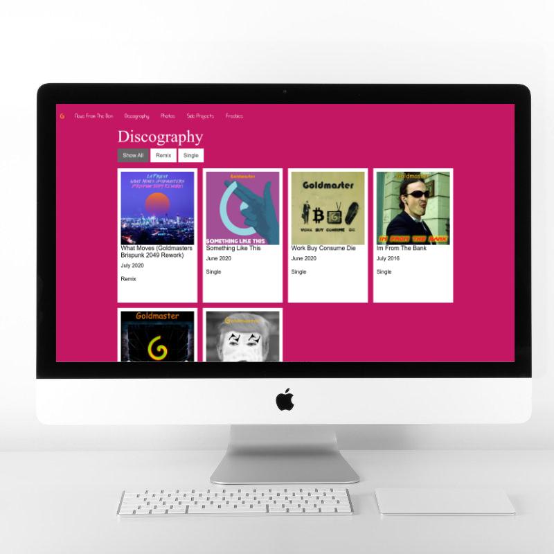 Goldmaster | Web Design by Plexaweb