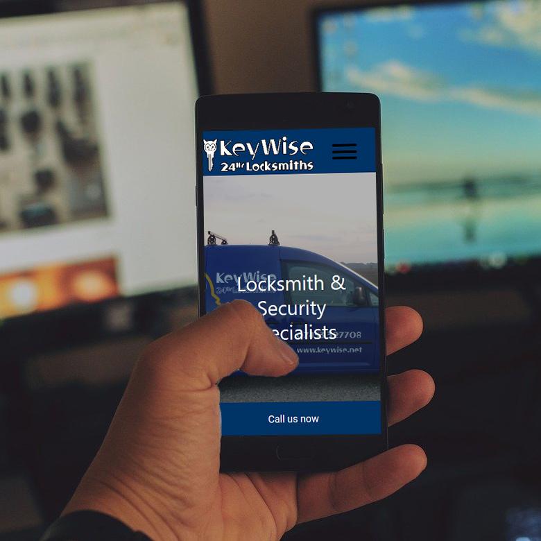 KeyWise Locksmiths | Web Design by Plexaweb