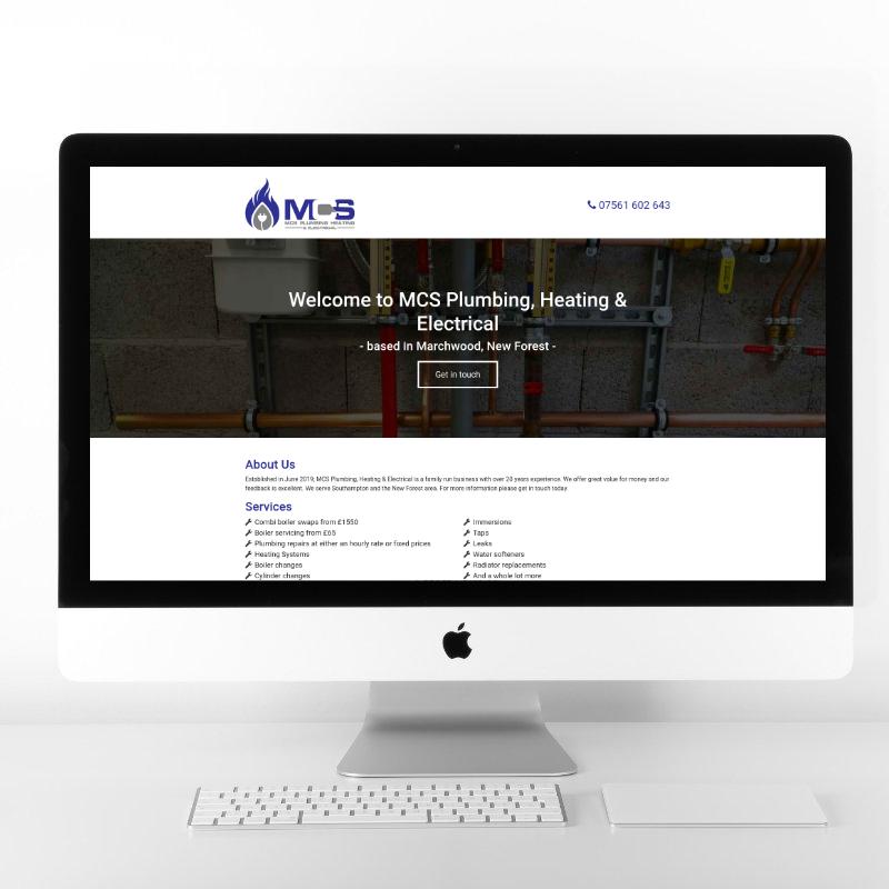 MCS Plumbing and Heating | Web Design by Plexaweb