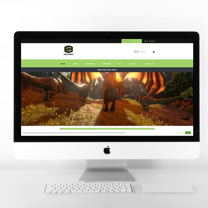 Serial Gaming | Web Design by Plexaweb