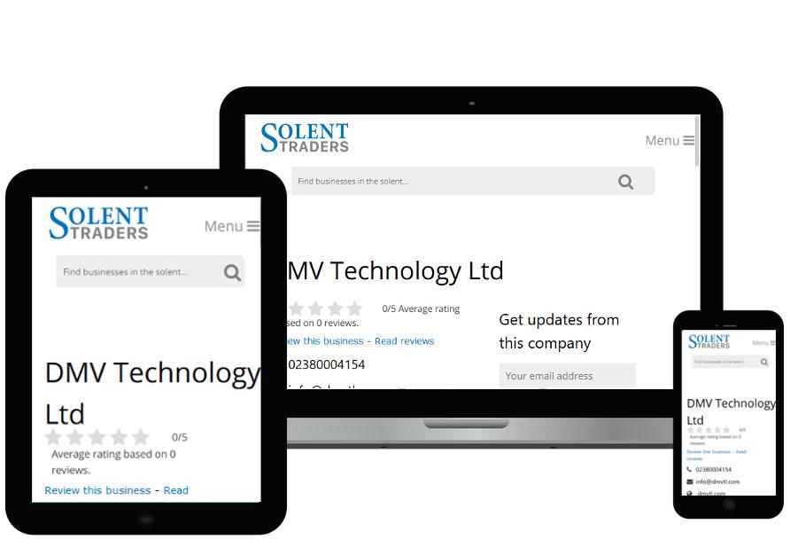 Solent Traders | Web Design by Plexaweb