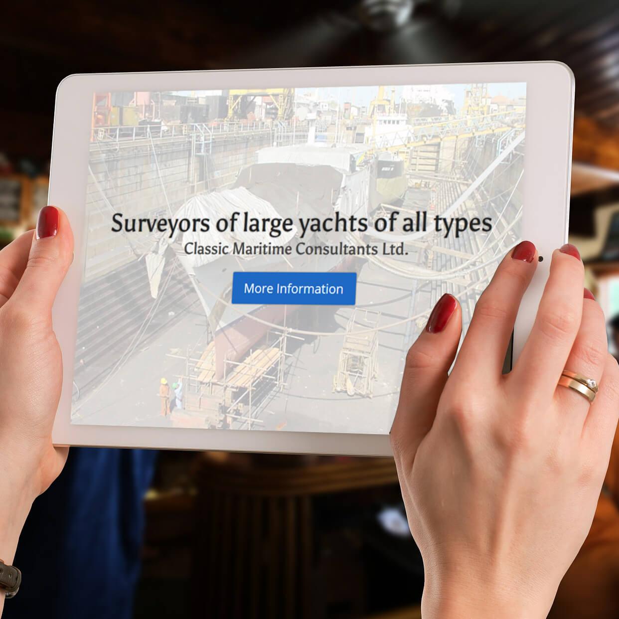 Classic Maritime Consultants Ltd | Website Design | Website Preview Image